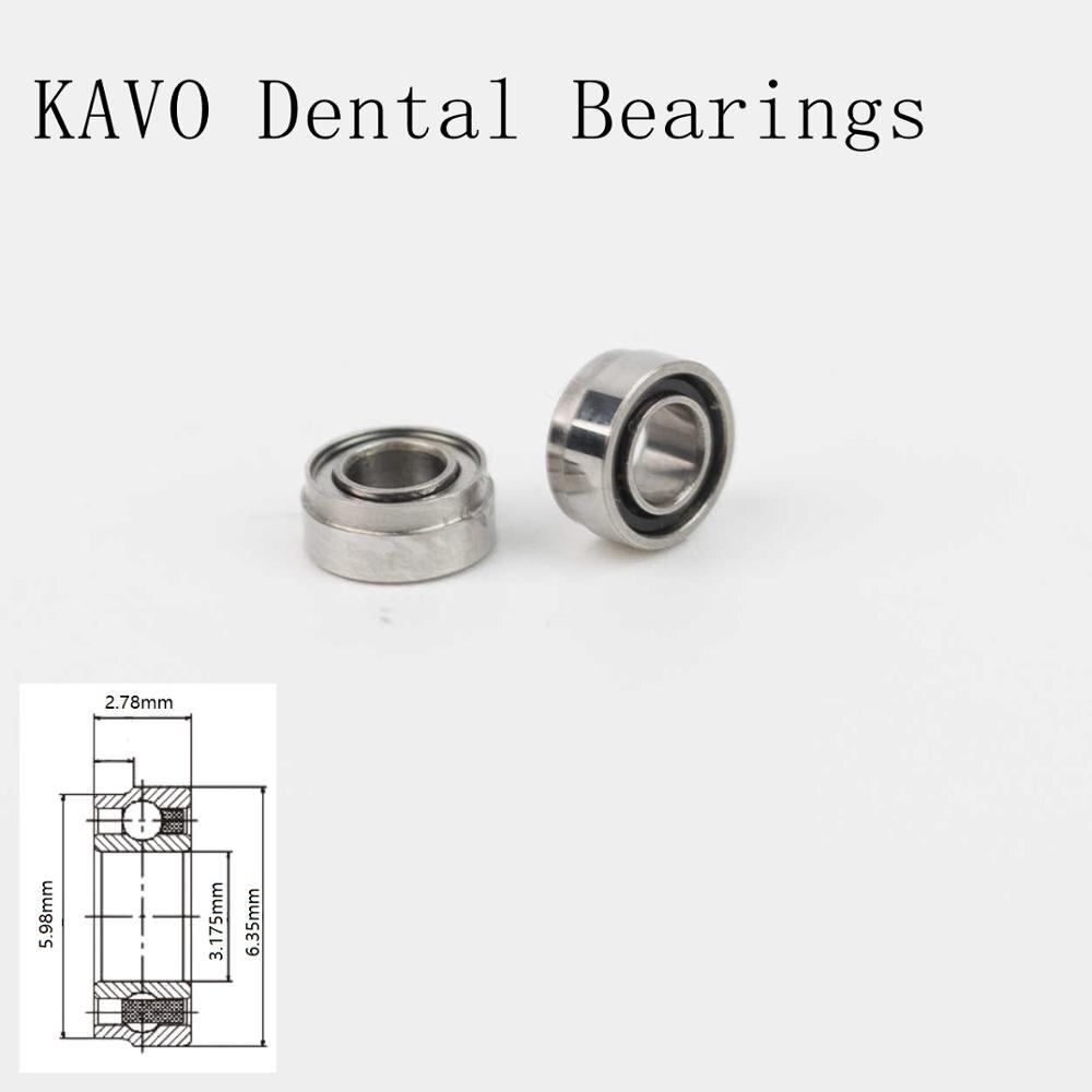 10pcs High speed KAVO handpiece Ceramic Dental Bearings SR144TLKZWN